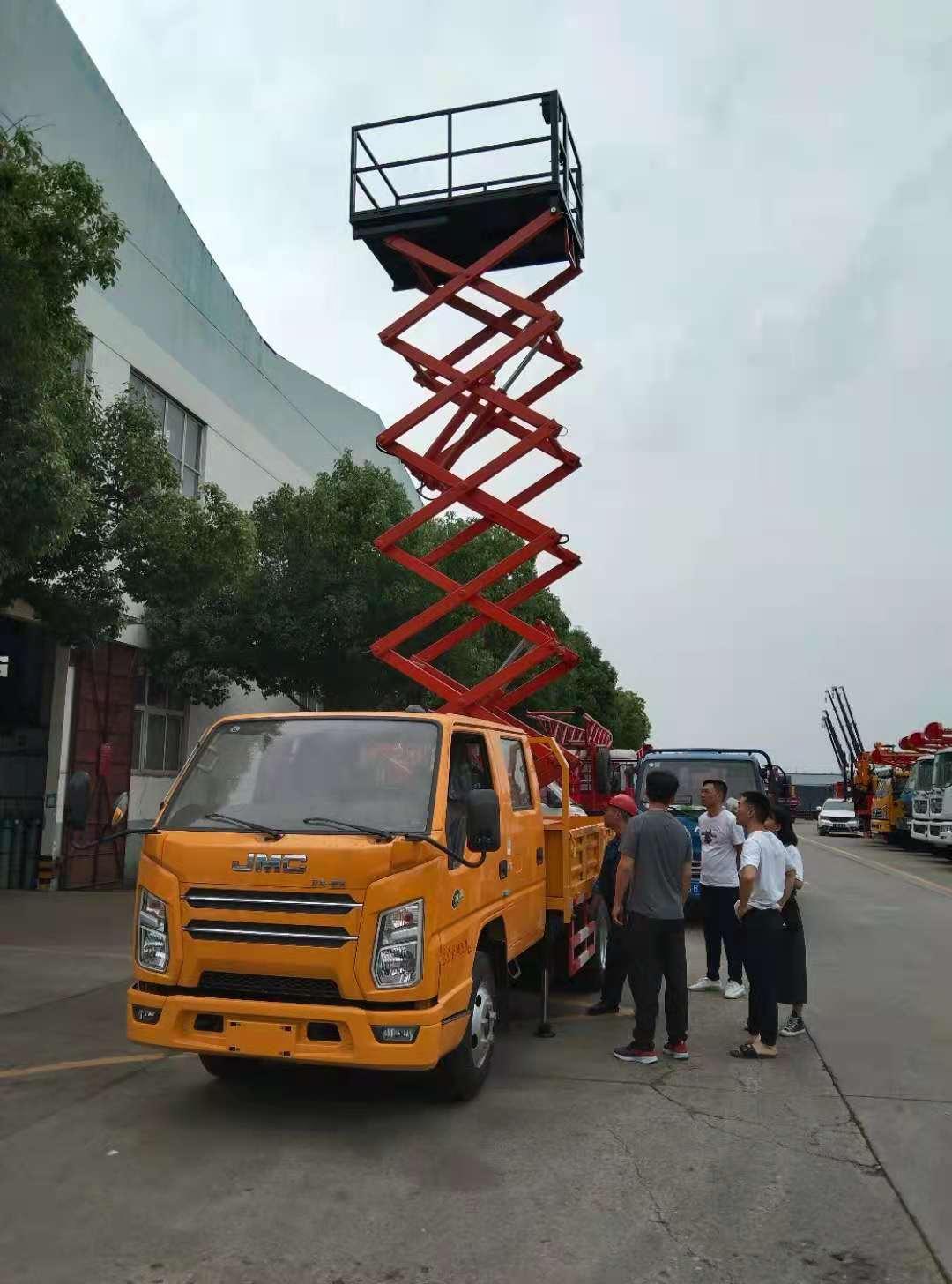 江铃顺达8米垂直升降车