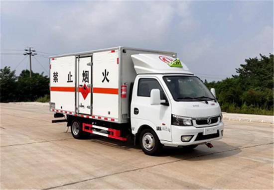 东风途逸 SDS5040XFWE6腐蚀性物品厢式厢式运输车(蓝牌柴油)