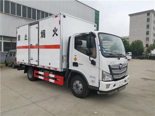 福田欧马可SDS5045XZWEB6杂项危险物品厢式运输车(柴油)